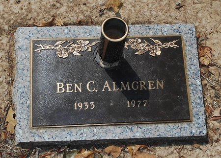 ALMGREN, BEN C - Rapides County, Louisiana | BEN C ALMGREN - Louisiana Gravestone Photos
