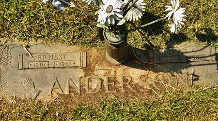 ANDERSON, ERNEST - Rapides County, Louisiana | ERNEST ANDERSON - Louisiana Gravestone Photos