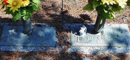 ANDERSON, ELLA R - Rapides County, Louisiana | ELLA R ANDERSON - Louisiana Gravestone Photos