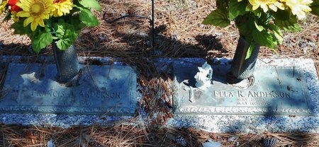 ANDERSON, FRANCIS A - Rapides County, Louisiana | FRANCIS A ANDERSON - Louisiana Gravestone Photos