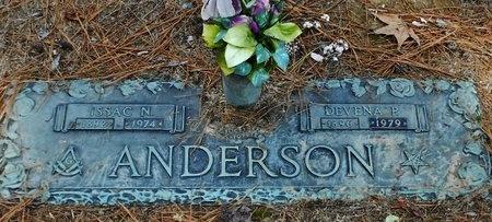 ANDERSON, ISAAC N - Rapides County, Louisiana | ISAAC N ANDERSON - Louisiana Gravestone Photos