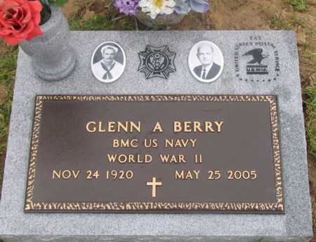 BERRY, GLENN AMOS (VETERAN WWII) - Rapides County, Louisiana | GLENN AMOS (VETERAN WWII) BERRY - Louisiana Gravestone Photos