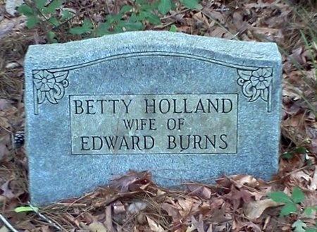 HOLLAND BURNS, BETTY - Rapides County, Louisiana | BETTY HOLLAND BURNS - Louisiana Gravestone Photos