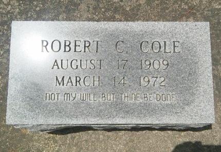 COLE, ROBERT C - Rapides County, Louisiana   ROBERT C COLE - Louisiana Gravestone Photos