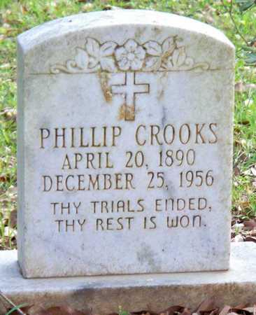 CROOKS, PHILLIP - Rapides County, Louisiana | PHILLIP CROOKS - Louisiana Gravestone Photos