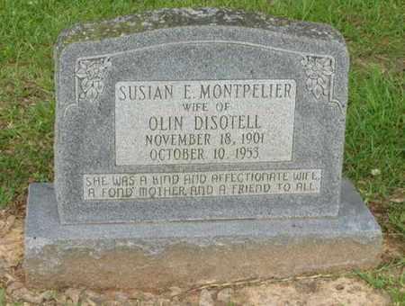 DISOTELL, SUSIAN E - Rapides County, Louisiana | SUSIAN E DISOTELL - Louisiana Gravestone Photos