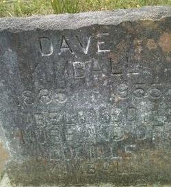 KIMBALL, DAVE - Rapides County, Louisiana   DAVE KIMBALL - Louisiana Gravestone Photos