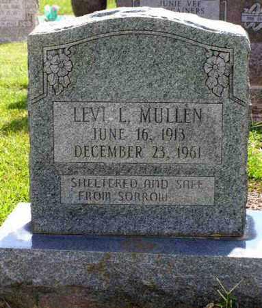 MULLEN, LEVI L - Rapides County, Louisiana   LEVI L MULLEN - Louisiana Gravestone Photos