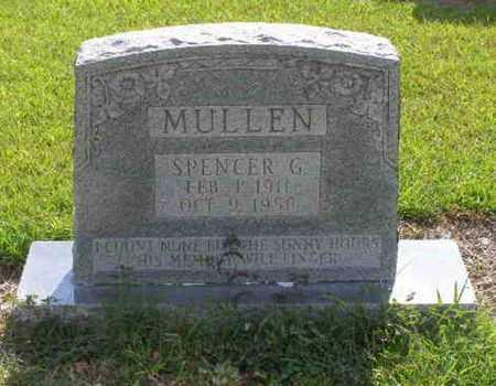 MULLEN, SPENCER G - Rapides County, Louisiana | SPENCER G MULLEN - Louisiana Gravestone Photos
