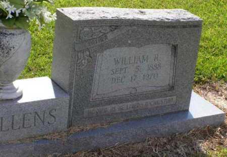 MULLENS, WILLIAM R (CLOSEUP) - Rapides County, Louisiana   WILLIAM R (CLOSEUP) MULLENS - Louisiana Gravestone Photos