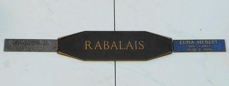 HEBERT RABALAIS, EUNA - Rapides County, Louisiana | EUNA HEBERT RABALAIS - Louisiana Gravestone Photos