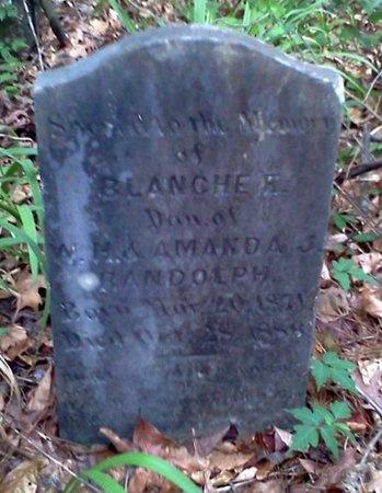 RANDOLPH, BLANCHE E - Rapides County, Louisiana | BLANCHE E RANDOLPH - Louisiana Gravestone Photos