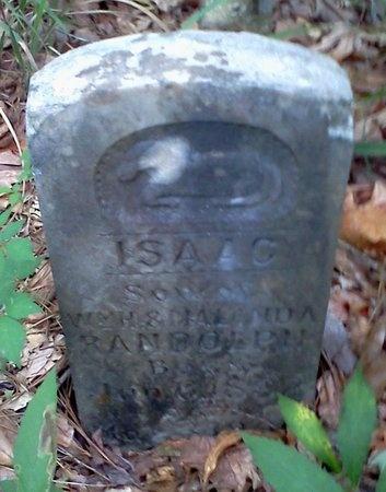 RANDOLPH, ISAAC - Rapides County, Louisiana | ISAAC RANDOLPH - Louisiana Gravestone Photos