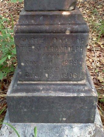 RANDOLPH, CARIE - Rapides County, Louisiana | CARIE RANDOLPH - Louisiana Gravestone Photos