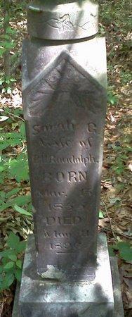 RANDOLPH, SARAH G - Rapides County, Louisiana | SARAH G RANDOLPH - Louisiana Gravestone Photos