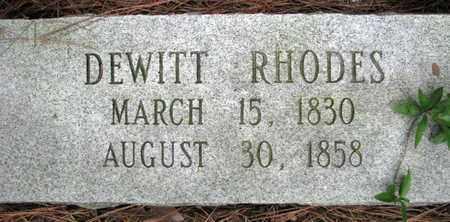 RHODES, DEWITT - Rapides County, Louisiana | DEWITT RHODES - Louisiana Gravestone Photos
