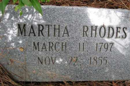 RHODES, MARTHA MASON - Rapides County, Louisiana | MARTHA MASON RHODES - Louisiana Gravestone Photos