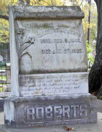 ROBERTS, CHARLES E - Rapides County, Louisiana | CHARLES E ROBERTS - Louisiana Gravestone Photos
