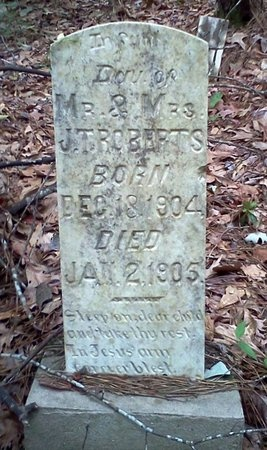 ROBERTS, INFANT DAUGHTER - Rapides County, Louisiana | INFANT DAUGHTER ROBERTS - Louisiana Gravestone Photos