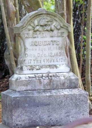 ROBERTS, WALTER LANE - Rapides County, Louisiana | WALTER LANE ROBERTS - Louisiana Gravestone Photos