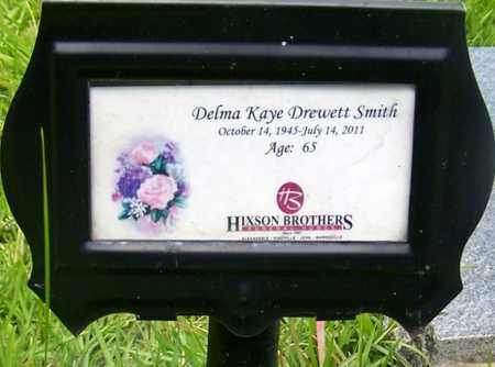 DREWETT SMITH, DELMA KAYE - Rapides County, Louisiana | DELMA KAYE DREWETT SMITH - Louisiana Gravestone Photos