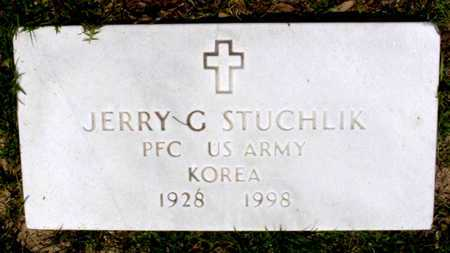 STUCHLIK, JERRY G (VETERAN KOR) - Rapides County, Louisiana | JERRY G (VETERAN KOR) STUCHLIK - Louisiana Gravestone Photos