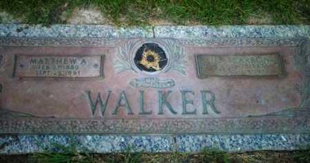 BARRON WALKER, ULA LAURETTE - Rapides County, Louisiana | ULA LAURETTE BARRON WALKER - Louisiana Gravestone Photos