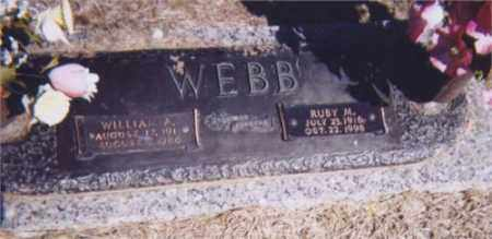 WEBB, RUBY MAE - Rapides County, Louisiana | RUBY MAE WEBB - Louisiana Gravestone Photos