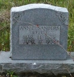 WELCH, ANNIE - Rapides County, Louisiana | ANNIE WELCH - Louisiana Gravestone Photos