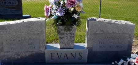 EVANS, MAMIE EDNA - Red River County, Louisiana | MAMIE EDNA EVANS - Louisiana Gravestone Photos