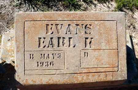 EVANS, EARL KING - Red River County, Louisiana | EARL KING EVANS - Louisiana Gravestone Photos
