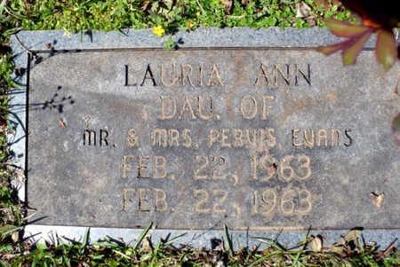 EVANS, LAURA ANN - Red River County, Louisiana | LAURA ANN EVANS - Louisiana Gravestone Photos
