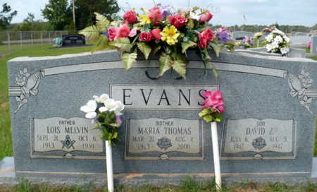 EVANS, LOIS MELVIN - Red River County, Louisiana | LOIS MELVIN EVANS - Louisiana Gravestone Photos