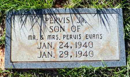 EVANS, PERVIS L JR - Red River County, Louisiana | PERVIS L JR EVANS - Louisiana Gravestone Photos