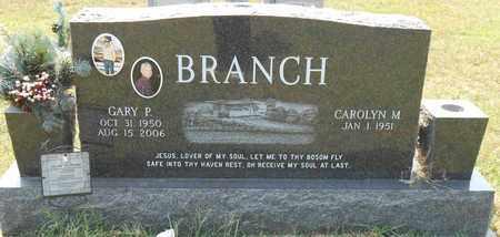 BRANCH, GARY P - Richland County, Louisiana | GARY P BRANCH - Louisiana Gravestone Photos