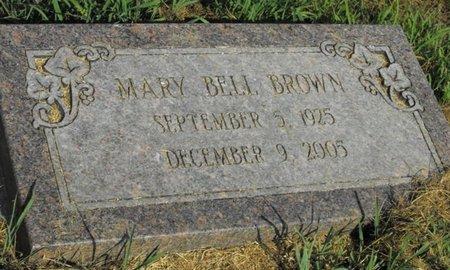 BROWN, MARY BELL - Richland County, Louisiana | MARY BELL BROWN - Louisiana Gravestone Photos