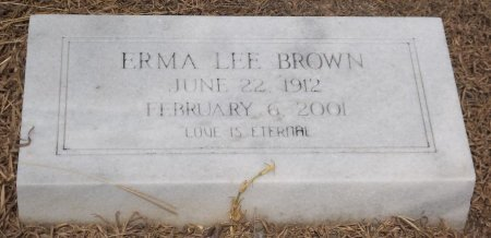BROWN, ERMA LEE - Richland County, Louisiana | ERMA LEE BROWN - Louisiana Gravestone Photos