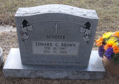 """BROWN, EDWARD G """"SCOOTER"""" - Richland County, Louisiana   EDWARD G """"SCOOTER"""" BROWN - Louisiana Gravestone Photos"""