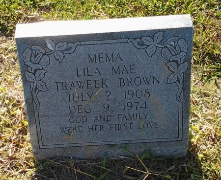 BROWN, LILA MAE - Richland County, Louisiana | LILA MAE BROWN - Louisiana Gravestone Photos