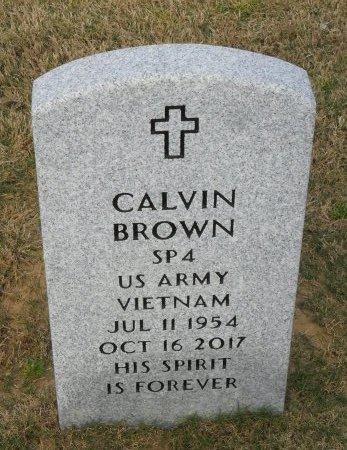 BROWN , CALVIN (VETERAN VIET) - Richland County, Louisiana | CALVIN (VETERAN VIET) BROWN  - Louisiana Gravestone Photos