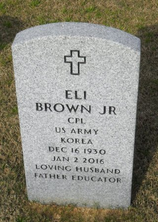 BROWN , ELI, JR   (VETERAN KOR) - Richland County, Louisiana | ELI, JR   (VETERAN KOR) BROWN  - Louisiana Gravestone Photos
