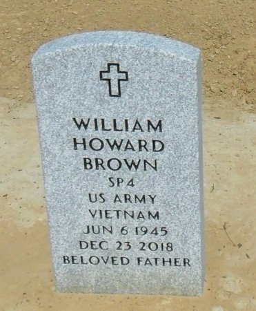 BROWN  , WILLIAM HOWARD (VETERAN VIET) - Richland County, Louisiana | WILLIAM HOWARD (VETERAN VIET) BROWN   - Louisiana Gravestone Photos
