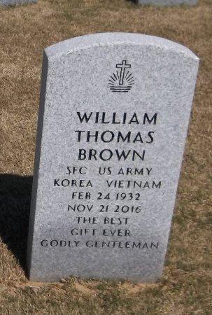 BROWN  , WILLIAM THOMAS (VETERAN 2 WARS) - Richland County, Louisiana | WILLIAM THOMAS (VETERAN 2 WARS) BROWN   - Louisiana Gravestone Photos