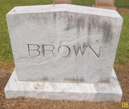 BROWN, PLOT MARKER - Richland County, Louisiana | PLOT MARKER BROWN - Louisiana Gravestone Photos