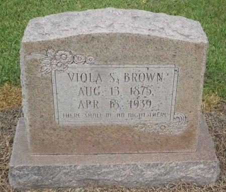 BROWN, VIOLA S - Richland County, Louisiana | VIOLA S BROWN - Louisiana Gravestone Photos