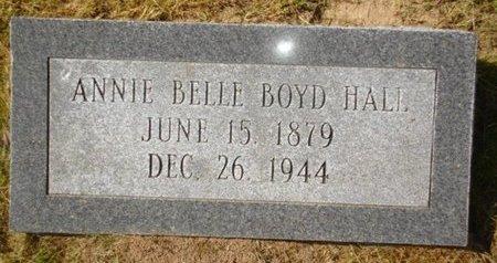 BOYD HALL, ANNIE BELLE - Richland County, Louisiana | ANNIE BELLE BOYD HALL - Louisiana Gravestone Photos