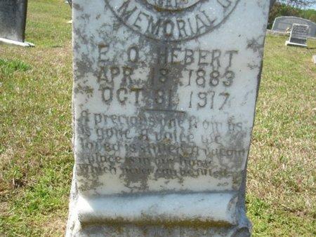 HERBERT  (CLOSE-UP), E O - Richland County, Louisiana | E O HERBERT  (CLOSE-UP) - Louisiana Gravestone Photos