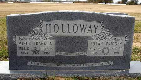 PRIDGEN HOLLOWAY, EULAH - Richland County, Louisiana | EULAH PRIDGEN HOLLOWAY - Louisiana Gravestone Photos
