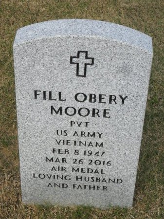 MOORE  , FILL OBERY (VETERANVIET) - Richland County, Louisiana | FILL OBERY (VETERANVIET) MOORE   - Louisiana Gravestone Photos