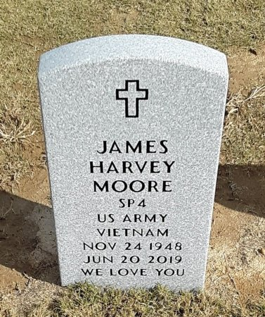 MOORE, JAMES HARVEY (VETERAN VIET) - Richland County, Louisiana | JAMES HARVEY (VETERAN VIET) MOORE - Louisiana Gravestone Photos